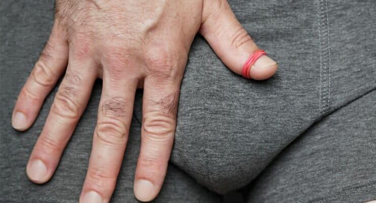 benjolan di penis